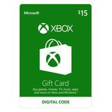 Xbox Digital Gift Card 15 Usd