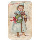 Antigua Tarjeta Post Card Con Estampilla 2 Ctvs. 1909