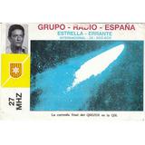 Antigua Tarjeta Grupo-radio-españa 1.988