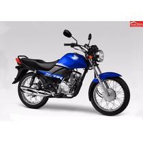 Moto Honda Cb1 Star Mod Cgx125whf 2015 Col Azul, Negro, Rojo