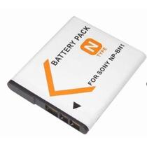 Batería Para Cámaras Sony Np Bn1 N Np-bn1 Recargable 3,6 V