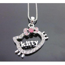 Hello Kitty Collar Silueta Cristal