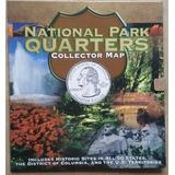 Album Mapa Coleccionador Whitman Cuartos Parques Nacionales
