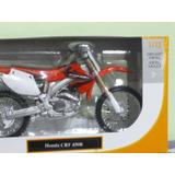 Moto Honda Crf 450r Escala 1/12