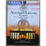 Album Coleccionador Whitman Cents  A. Lincoln Bicentenario