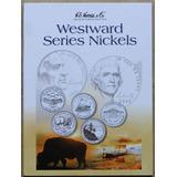 Album Coleccionador Whitman Monedas 5 Cts Serie Westward Lew