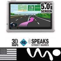 Gps Garmin Nuvi 50 Delgado Pantalla Touch - Speaker + Mapas