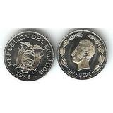 Moneda Ecuador 1 Sucre 1988 Nueva Sin Circular Unc