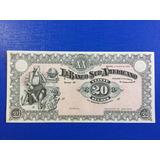 Ecuador - Billete 20 Sucres Banco Suramericano- 2 Enero 1920