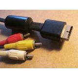 Cable Original Rca Para Playstation 1 Cable Para El Tv