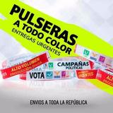 Pulseras Manillas Publicitarias Sublimadas Full Color 1000u