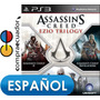 Assassin´s Creed Ezio Trilogy Ps3,juegos Nuevos Playstation3
