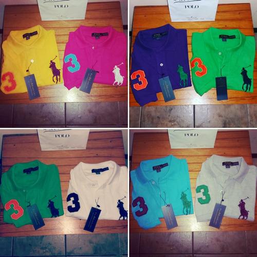 abe83d5f0b87d Camisetas Polo Ralph Lauren Big Pony Originales Y Nuevas!! US 40 ...
