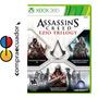 Assassins Creed Ezio Trilogy Xbox360 Nuevo Sellado Original