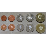 Niue Oceania Juego Serie 5 Monedas Mundiales Nuevas Set