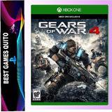 Gears Of War 4 Juego Xbox One Físico Original Sellado