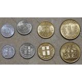Islandia Europa  Juego De 4 Monedas Flamantes Serie