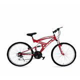 Bicicleta Gti Aro 26 Doble Suspensión Freno Disco Inc Iva