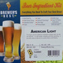 Kit Cerveza Artesanal Malta Lupulo Levadura American Light $