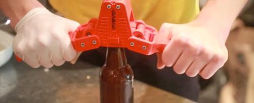 Chapadora Tapadora Embotellador  Botellas Cervezas Artesanal