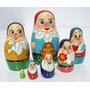 Munecas Rusas Enanos De 7 Un Matrioska Artesanias Arte Rusia