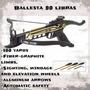 Cobra Mini Ballesta 80 Libras + 3 Flechas Nuevos Reforzada