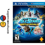 All-stars Battle Royale, Ps Vita, Original Sellado Nuevo