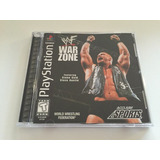 Wwf War Zone Original Para Psx Ps1 Ps2 Ps3 Ps4