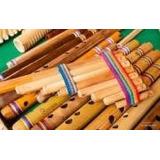 Instrumentos Andinos Zampoñas, Quenas Nuevas En San Rafael