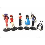 Set De Figuras Originales De Ranma 1/2  Bandai