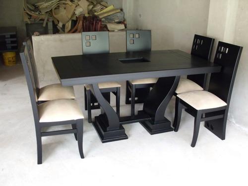 Juego de comedor moderno modelo lineal comedor a usd 429 for Juego de muebles moderno