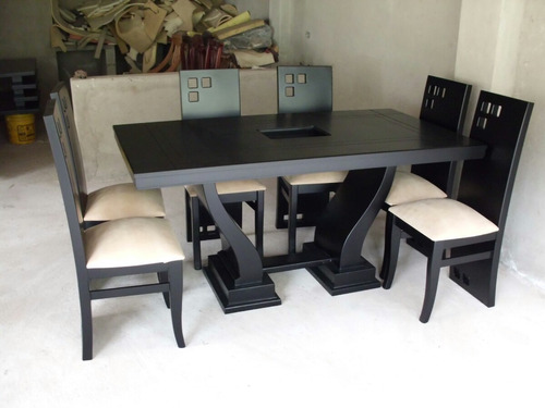 Juego de comedor moderno modelo lineal comedor a usd 429 for Modelos de muebles modernos