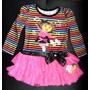 Vestido Dora The Explorer T.2 Nickelodeon Original Oferta