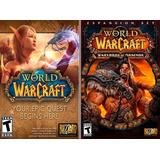 World Of Warcraft + Expansiones Hasta Legion + 1 Mes D Juego