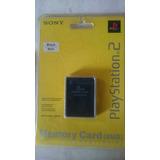 Memory Card Sony Memoria Data Playstation 2 Original Nueva