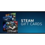Recarga Steam $5-$100 Para Todos Los Paises