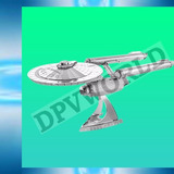Rompecapeza Star Trek Enterprise Ncc-1701 3d Metalico Figura