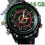 Reloj Espía 16gb Incluida 1280 X 960 Modelo Sport Negro