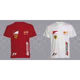 Camisetas F 1 Marca Unbranded Con El 50% Dscto. Promocion
