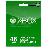 Xbox Live Gold 2 Días 48 Horas Digital Xbox One/360 Consola