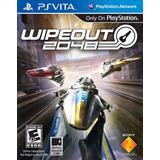 Wipeout 2048 Playstation Vita Ps Vita Físico Nuevo Sellado