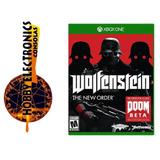 Xbox One Wolfenstein The New Order ,juego Físico