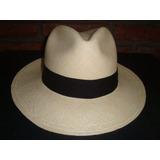 Sombrero De Paja Toquilla(panamahat) Original Montecristi