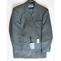 Terno Plomo Original Johnson Chile Elegante Xl Nuevo Oferta