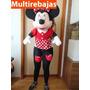 Gigante Minnie Mouse Y Mickey Mouse De 80 Cm