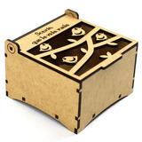 Cajas Cajitas Madera Mdf Personalizadas Decoradas Laser 3d