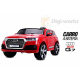 Carro A Batería Y Control Remoto Audi Q7 Incluido Iva