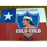 Poster Del Club Colo-colo De Chile