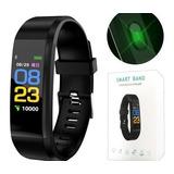 Reloj Pulsera Inteligente Id115 Smartband Fit Ritmo Cardio