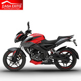 Moto Pulsar Ns200 Año 2019 200cc Color Rojo-negro